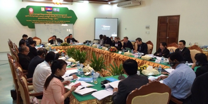 Country Visit for the review on the Self-Assessment Checklist of Cambodia