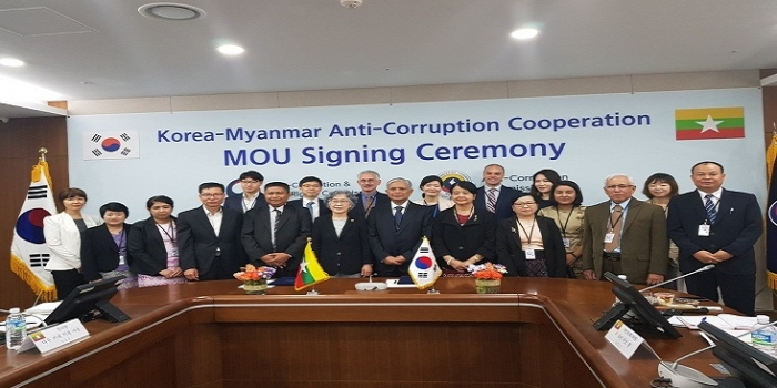 CRA Study Mission to Korea's ACRC and bilateral Meeting between Anti-Corruption Commission, Myanmar and Anti-Corruption and Civil Rights Commission (ACRC)